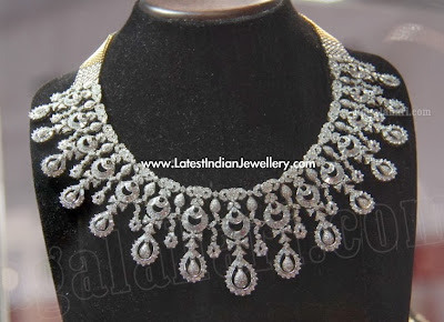 Latest Diamond Necklace Collection