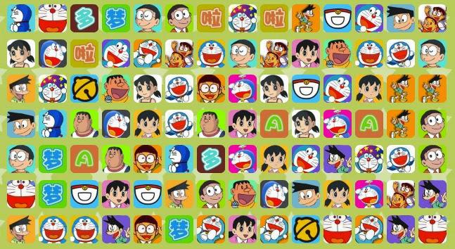 Juegos de Doraemon tipo match it