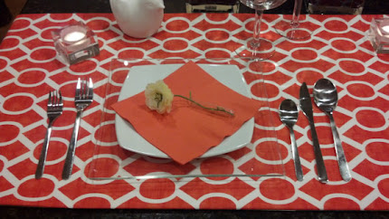 Sydney Orange Table Runner
