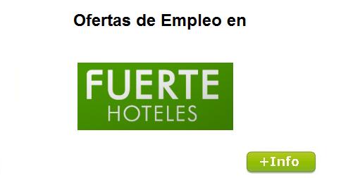Ofertas de empleo en hoteles grupo el fuerte - Ofertas de empleo jefe de cocina ...
