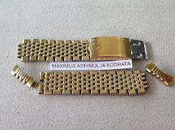 OMEGA GOLD CAP BRACELET