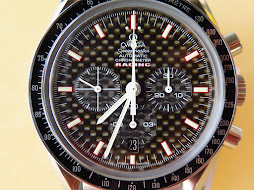 OMEGA SPEEDMASTER CHRONOGRAPH CHRONOMETER RACING CARBON DIAL - AUTOMATIC