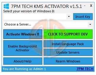 Рабочий активатор Windows 8