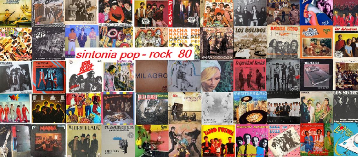 SINTONIA POP-ROCK 80