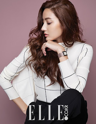 Han Chae Young Elle December 2015