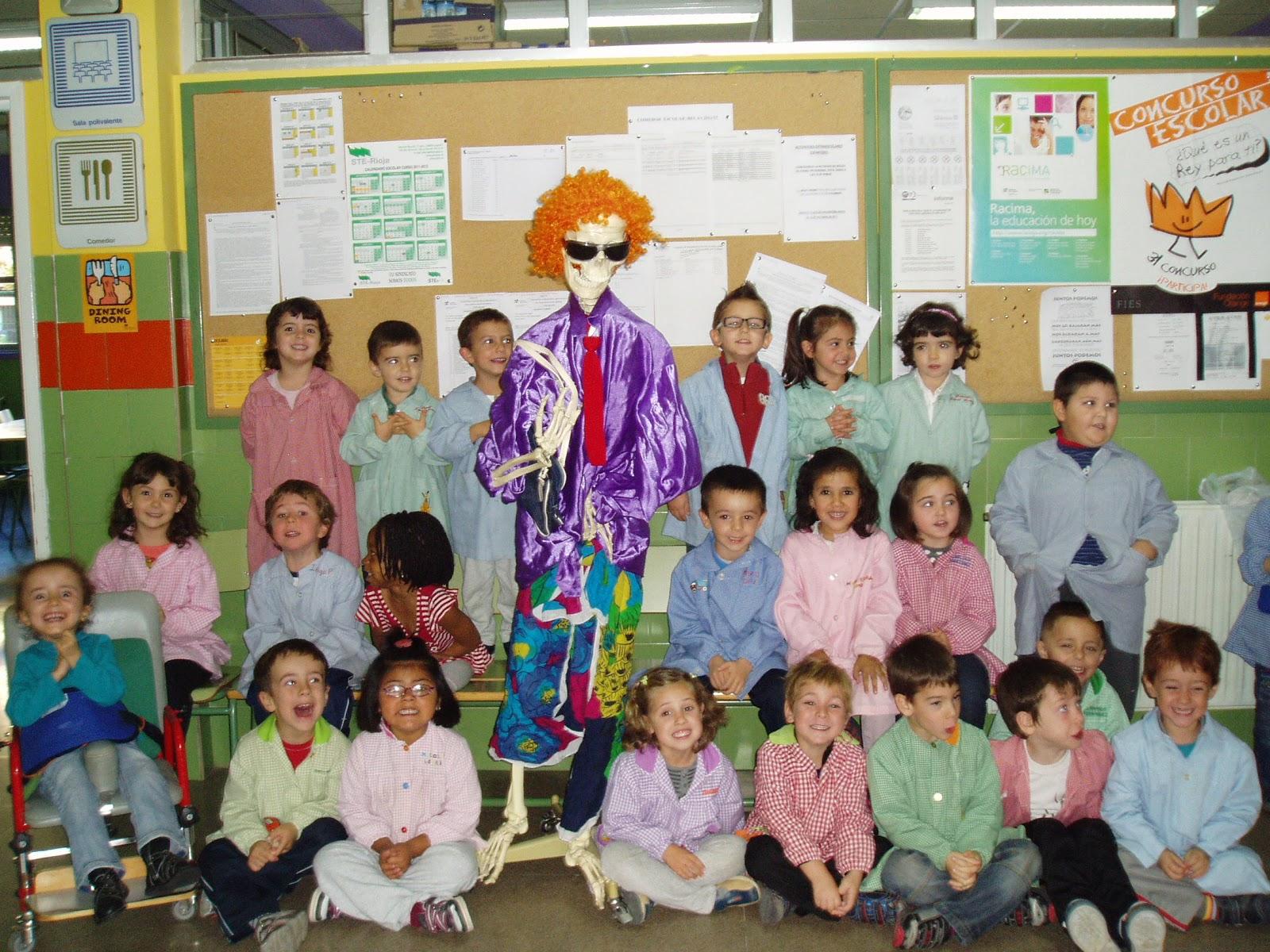 En mi clase: Todos los Santos y Halloween