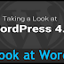 Taking a Look at WordPress 4.0