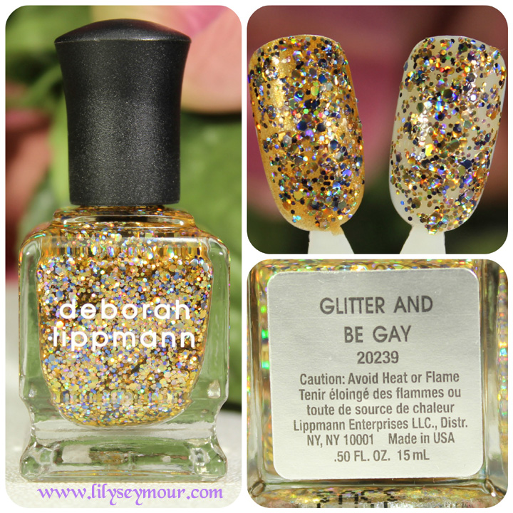 Deborah Lippmann Glitter and be Gay