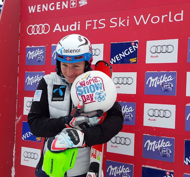 Hat Trick for Norway in Wengen: Henrik Kristoffersen Wins Slalom