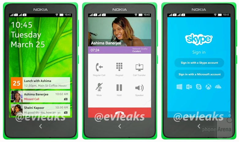 Nokia Normandy, Nokia Android, Android KitKat, Windows Phone, Nokia MixRadio, dual SIM