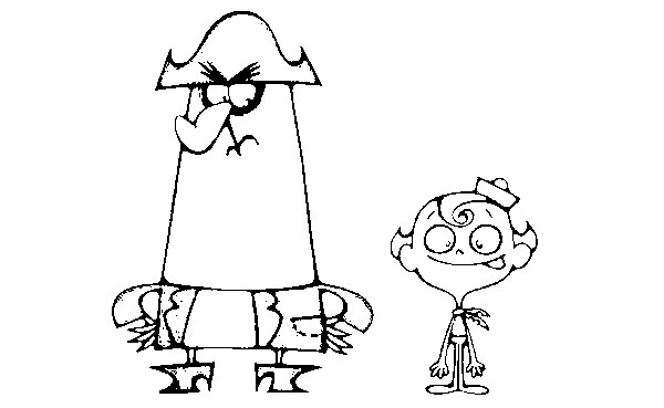 coloring pages of flapjack - photo#14