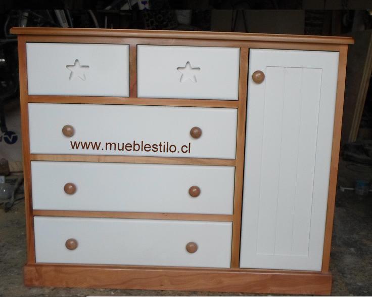 Muebles de bebe comoda cambiador mariella - Comoda cambiador bebe ...