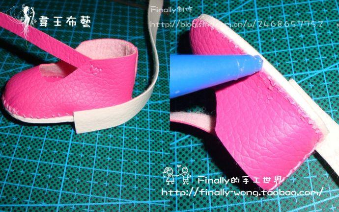 Выкройки туфельки для куклы фото 807