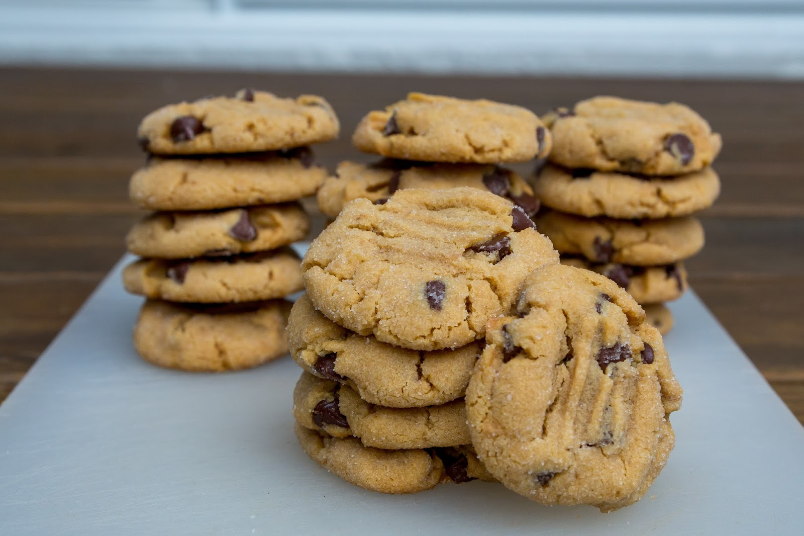 113 grams of butter: Peanut Butter Chocolate Chip Cookies