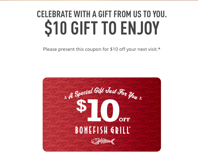 image regarding Bonefish Grill Printable Coupon referred to as Absolutely free IS MY Lifetime: COUPON: $10 off Dine-within just Supper acquire (no