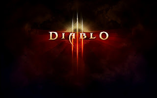 Diablo 3 Game Logo HD Wallpaper