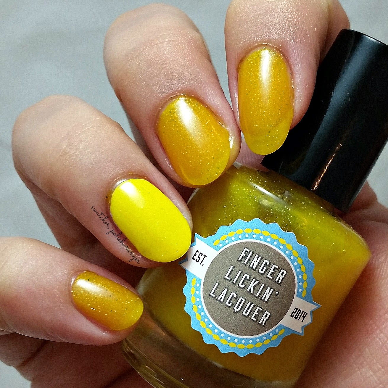 swatcher, polish-ranger | Finger Lickin Lacquer Harvest Moon swatch