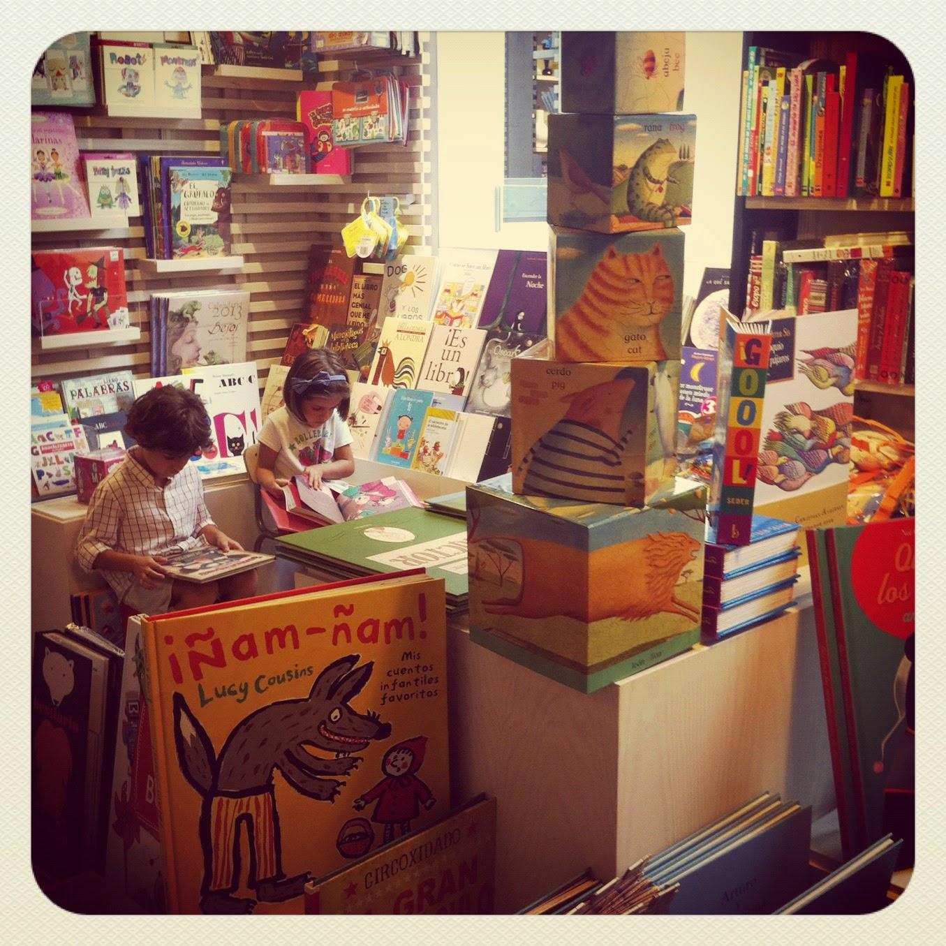 bibliotecas para niños - La Central