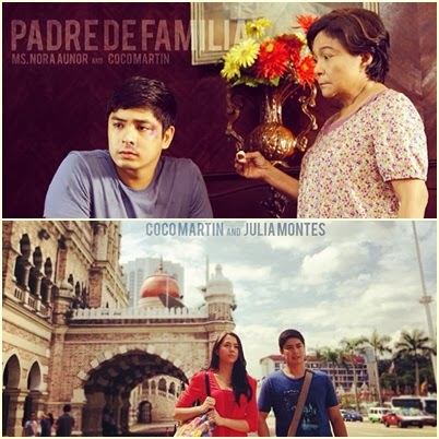 Coco Martin, Julia Montes, Nora Aunor in Padre de Familia Movie 2014