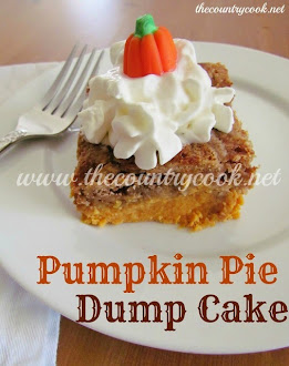 Pumpkin Pie Dump Cake