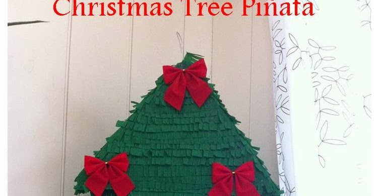 This Girl Loves To Talk Christmas Tree Pinata - Christmas Tree Pinata