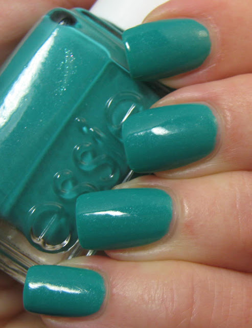 essie naughty nautical swatch and review