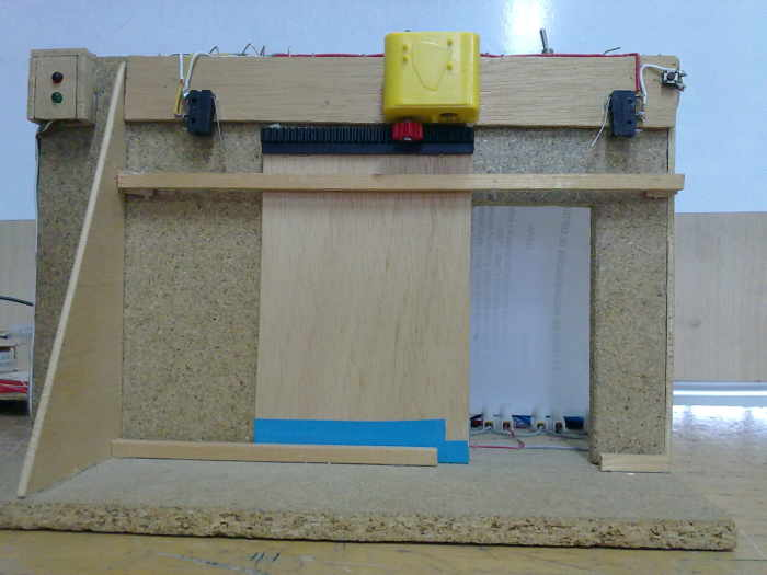 Technology to the extreme - Proyecto puerta de garaje ...