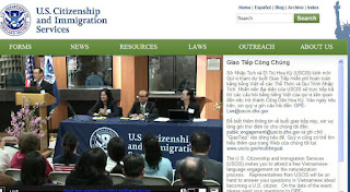 Immigration Services Officer, Dominic Nguyen, hosts first USCIS national Vietnamese-language public engagement (