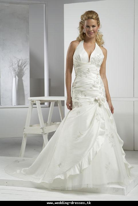 dresses cream halter bridal gown pictures2011 cream lacy wedding gown