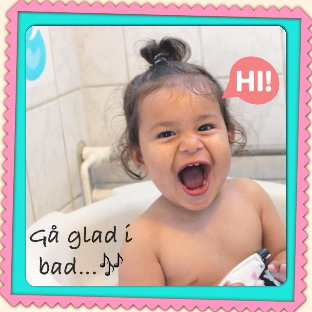 Prinsessen i bad :O)