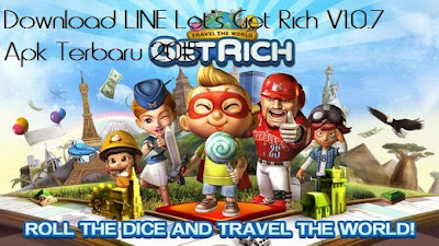 Download LINE Let's Get Rich V1.0.7 Apk Terbaru 2015