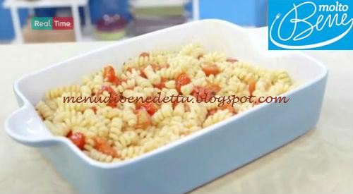 Pasta con pomodorini al forno ricetta Parodi per Molto Bene