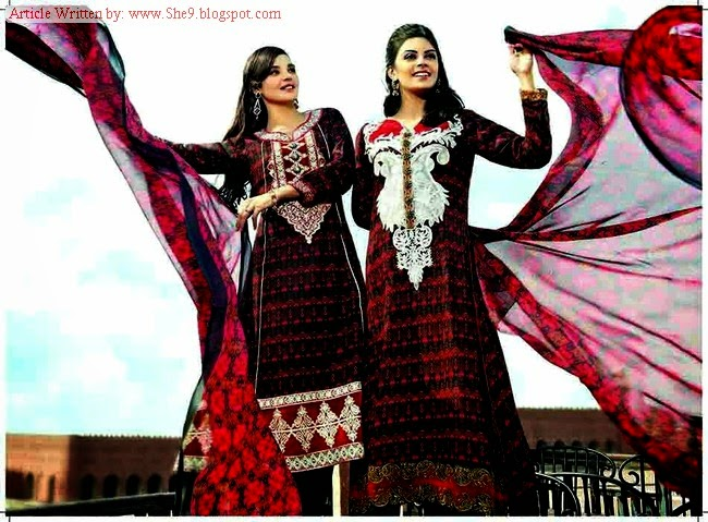 Tawakkal Classic Winter Fall Dress Collection 2014-205