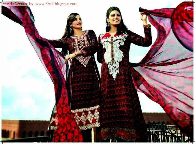 Tawakkal Classic Winter Fall Dress Collection 2014-205