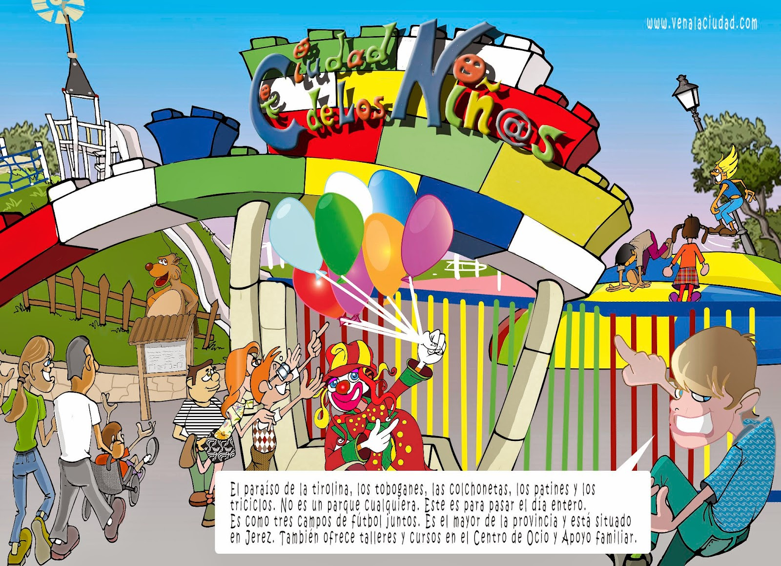 """<img src=""""La Ciudad de los Niños.jpg"""" alt=""""Parque Infantil en dibujo""""/>"""