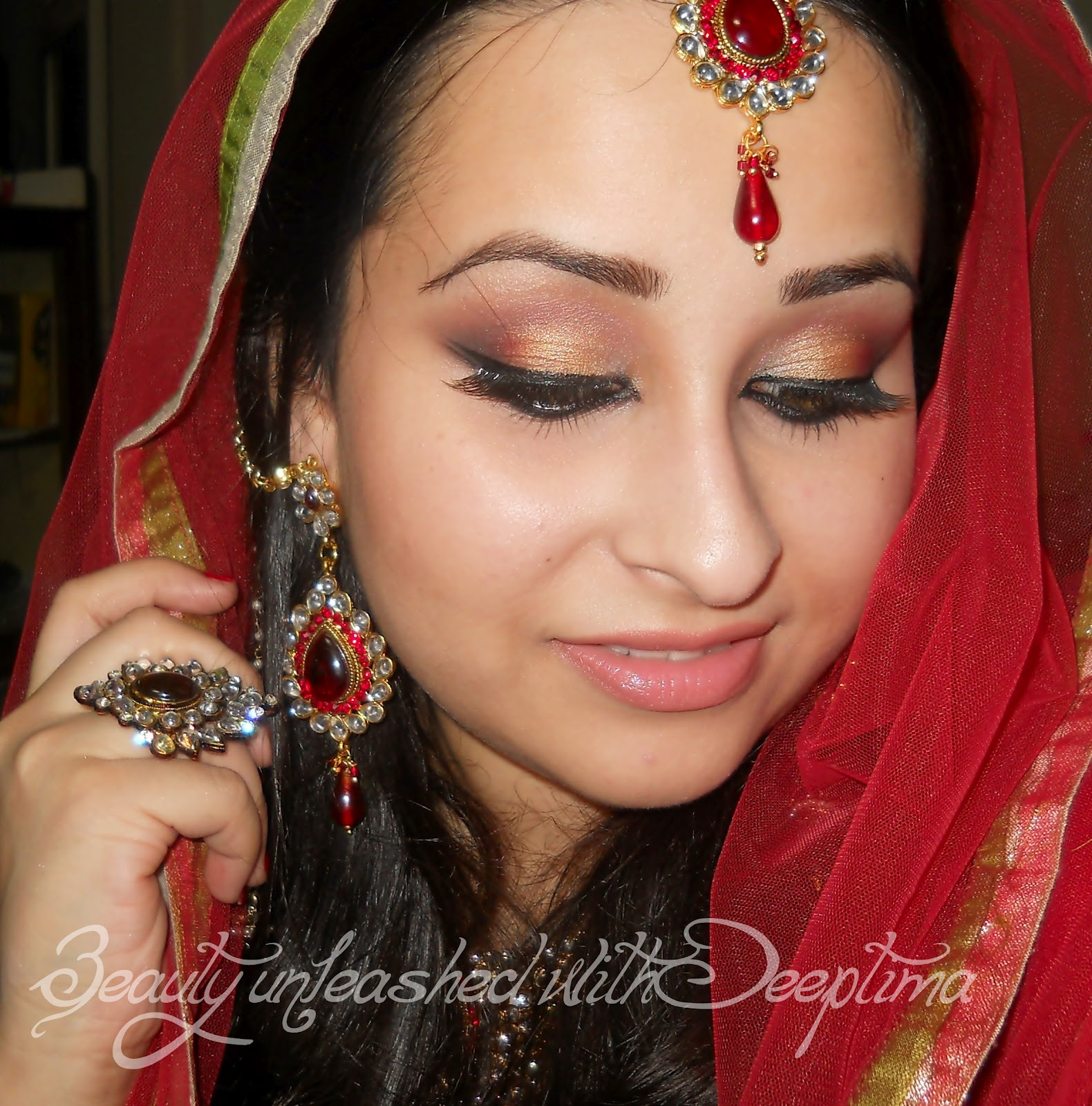 Exotic Wedding Makeup : Simply Deeptima Beauty and Lifestyle Blog: Exotic Arabic ...