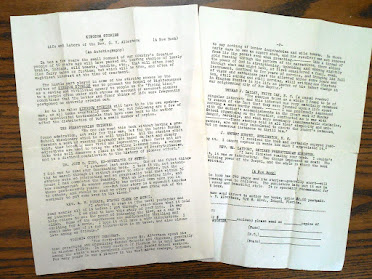 "Original ""Kingdom Stories"" Book Review and Order Form"