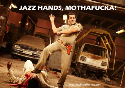 Jazz Hands, Mothafucka