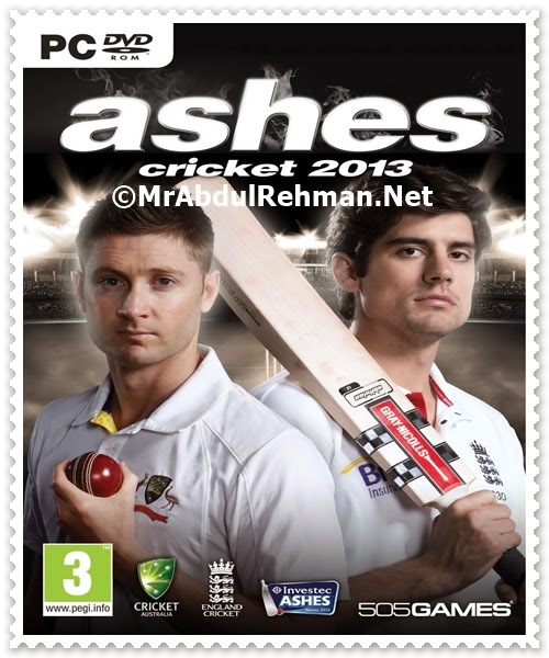 Ashes Cricket 2013 PC Game Free Download Full Version