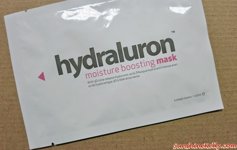 Hydraluron, Moisture Boosting Mask, Be Merry& Bright, Beauty 2015, Beauty Review