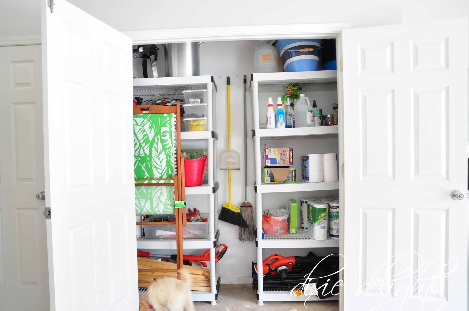 Honey Does: The Garage {Before & After} – Dixie Delights