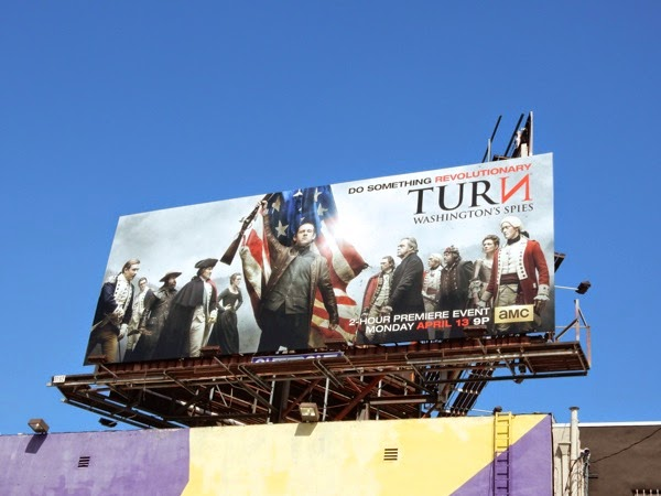 Turn Washingtons Spies season 2 billboard