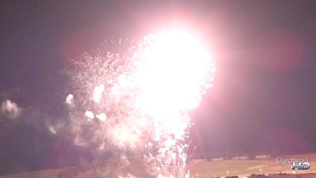 fuegos artificiales, traca final, feria cordoba, 2012, fireworks, fullhd, Creativo J, Torre de la Calahorra