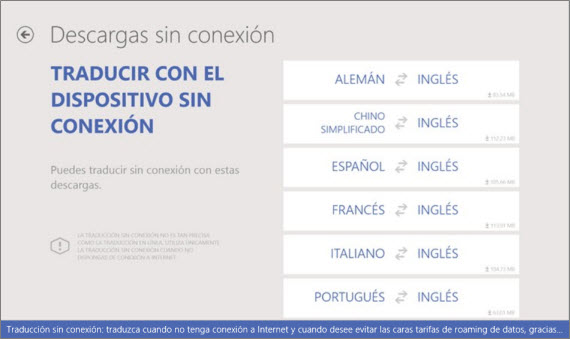 Disponible la app Bing Translator para Windows