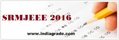 SRMJEEE 2016 Application Form