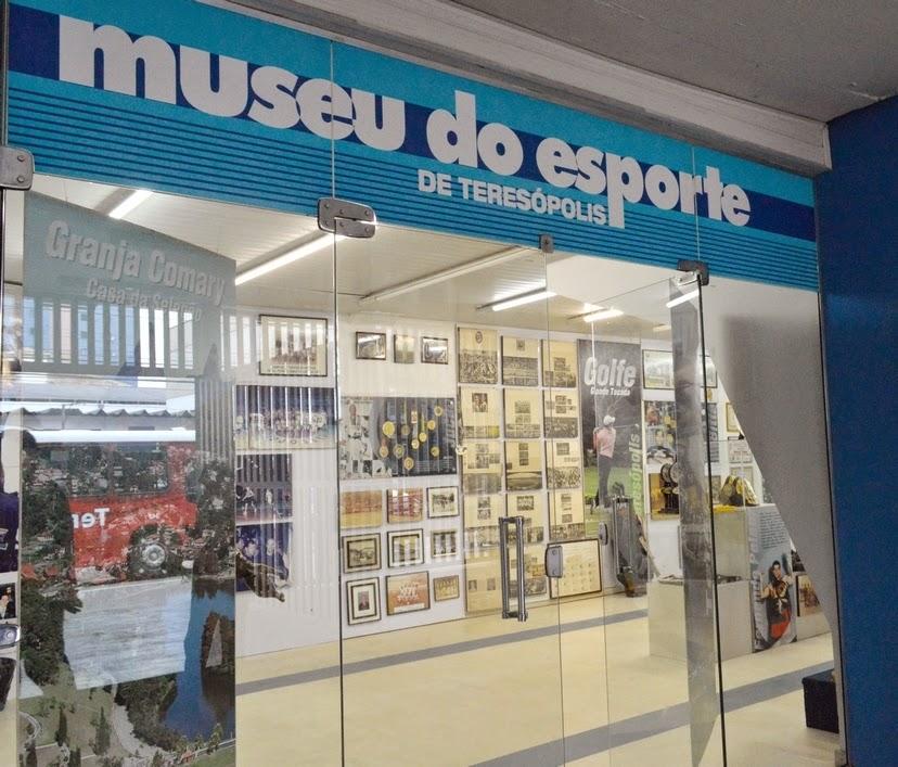 Museu do Esporte de Teresópolis: a história dos desportistas que representam ou representaram a cidade contada em fotos, troféus, medalhas e equipamentos esportivos
