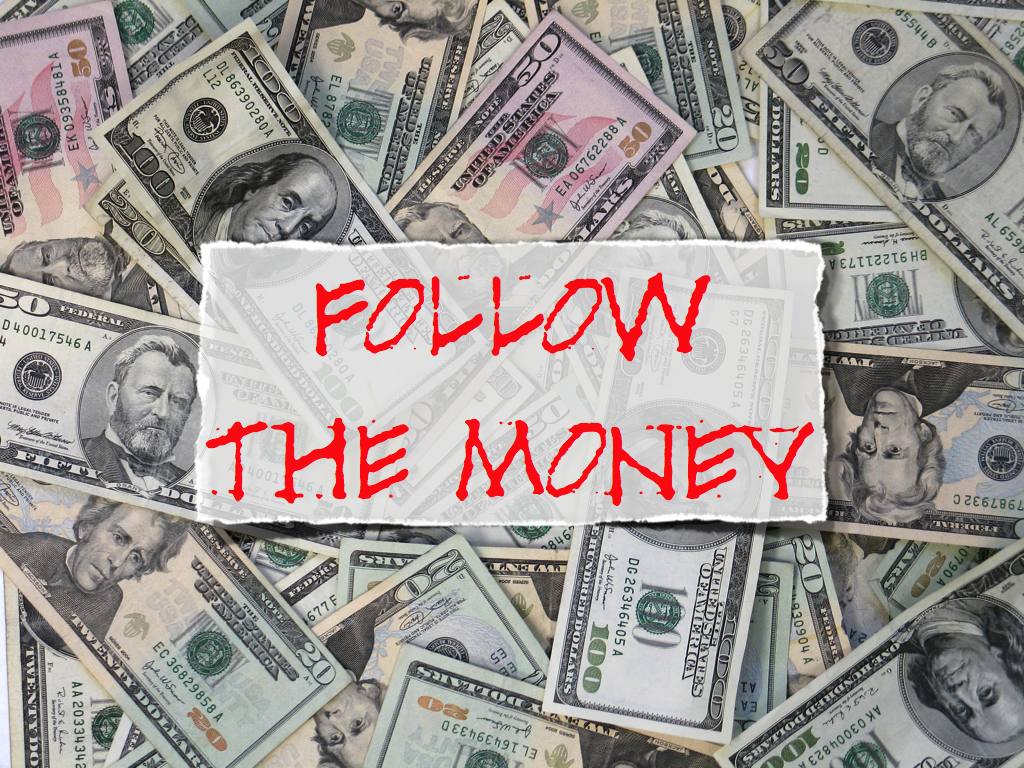 The Eagle Blue Chronicles: Follow the Money