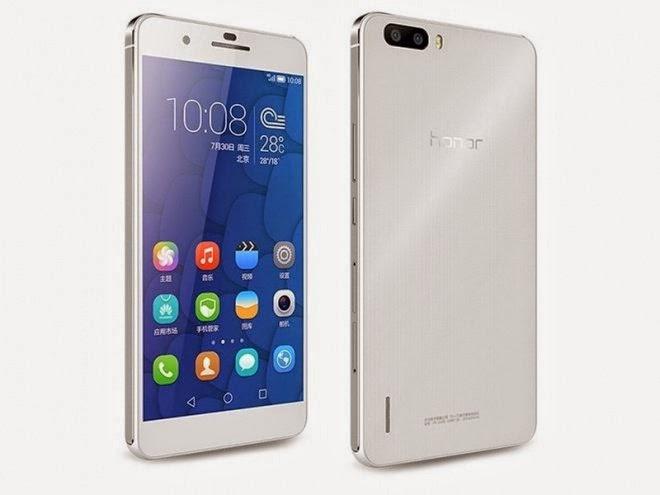 Smartphone Honor 6 Plus com processador octa core, 3GB de RAM, 32GB de armazenamento interno