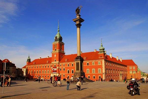 Det kongelige slot i Warszawa, Polen