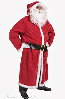 Father Christmas Coat or Gown from Theatrical Threads Ltd
